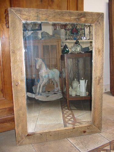 Wonderlijk Diverse spiegels van oud hout gemaakt.   The Old Way VG-79